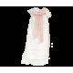 Maileg, dopklänning med rosa band